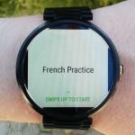 Smartwatch Lernen mit Duolingo